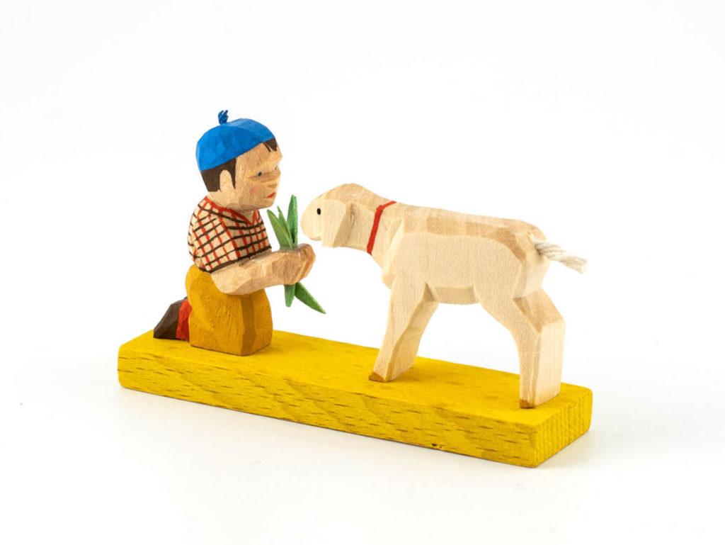 WA/31 Junge mit Schaf